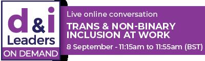 Trans & Non-Binary Inclusion at Work
