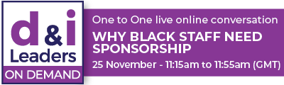 Why Black staff need sponsorship